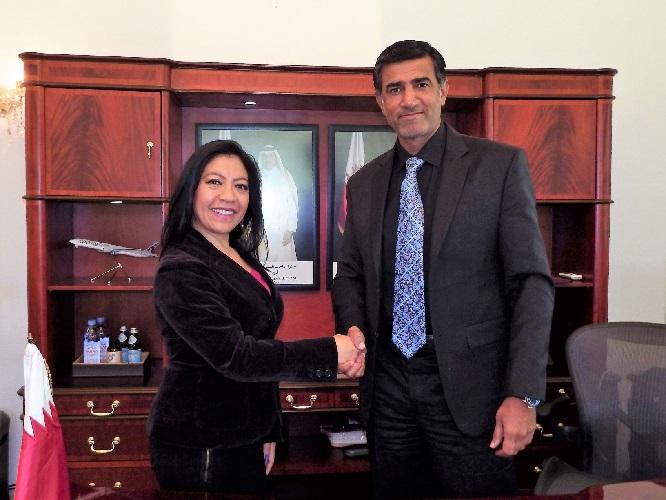 Entrevista Excmo. embajador de Qatar en México Mohammed Al Kuwari