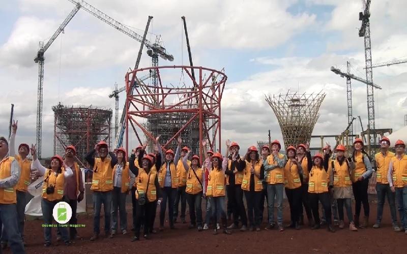 Visita a las obras del Nuevo Aeropuerto Internacional de la Ciudad de México