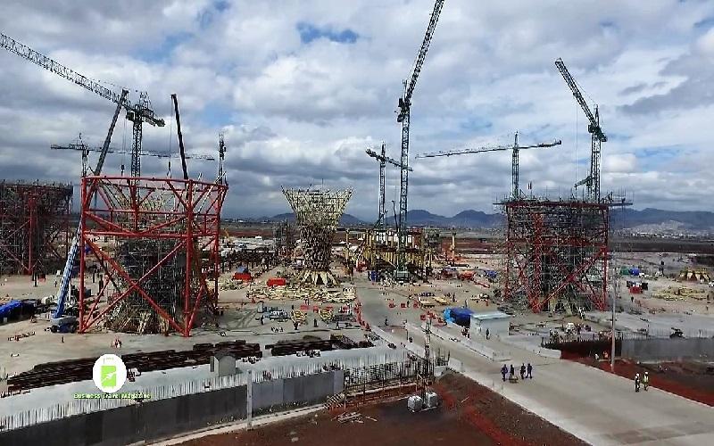 Continuación de visita a la obra del Nuevo Aeropuerto Internacional de la Ciudad de México